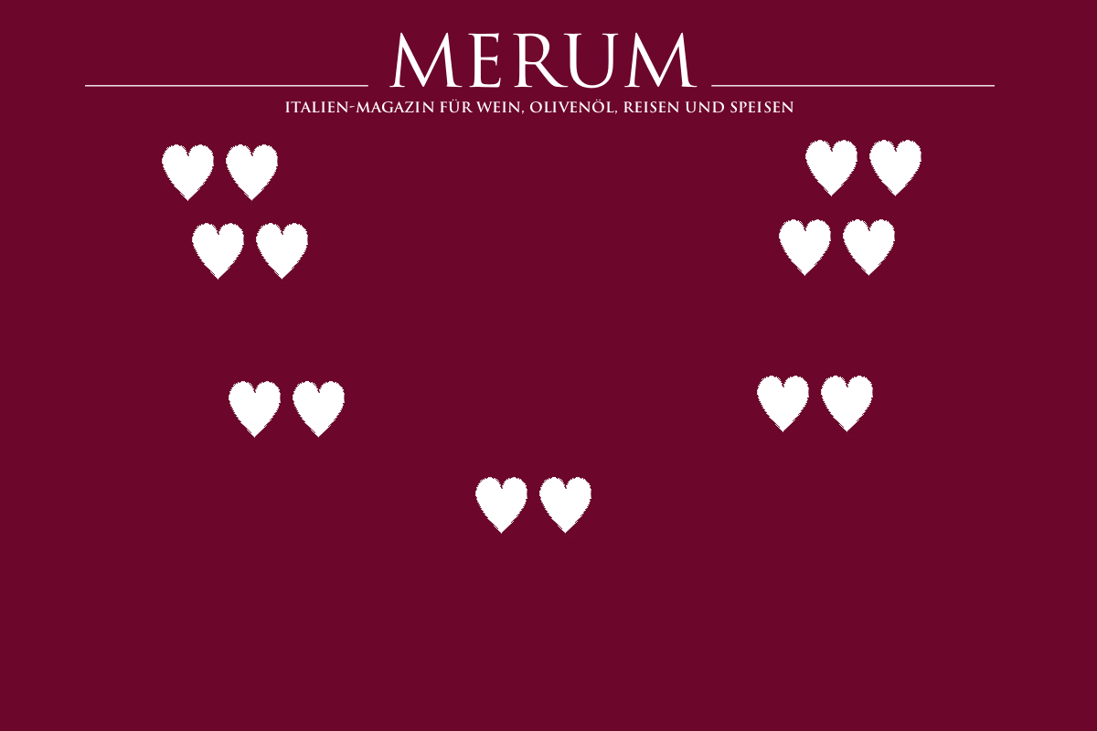 """HEARTS"" FROM MERUM FOR THE D.O.C.G. DALDIN"